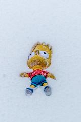 02.03.2018. Saved. (eronan) Tags: cobh snow bart simpson