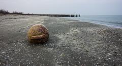 La boa (paolotrapella) Tags: boa galleggiante mare beach sabbia water acqua