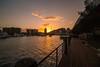 Sunset on Ross Creek-4270 (islandfella) Tags: ross creek townsville queensland australia sunset evening twilight nightfall down under water museum