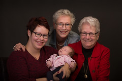 Vier generarties vrouwen