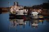 tuck_1734 copy (Curt Hudson) Tags: tuckahoe nj boats marina dock reflection water twilight new jersey shore