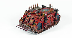 World Eaters Rhino (Uruk's Customs) Tags: warhammer games workshop wh40k chaos space marines heretic astartes khorne world eaters rhino deimos forge horus heresy