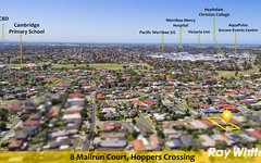 8 Mailrun Court, Hoppers Crossing VIC