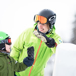 Ski teacher and a young student thumbnail