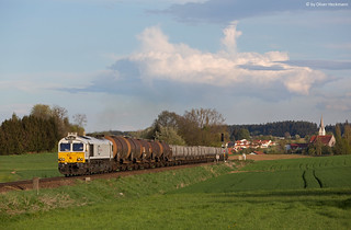 ECR / DB Schenker Rail 247 043 Geisenhausen