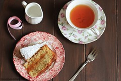 Torta al mandarino 1 (Giovanna-la cuoca eclettica) Tags: dolci tè tea teacup cake stilllife food cibo