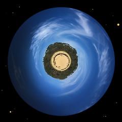 Small Planet Gulls (caralan393) Tags: smallplanet polar experimental planet space