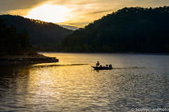 Fisherman's Dream (scottymanphoto) Tags: autumn tranquility landscape nature water hills trolling orange golden goldensunrise trees silhouette sky reflective outside skies easternkentucky scenic relaxation outdoors caverun late colorful sun sunrise clouds fishingpoint tranquil windybay bass windybayfishingpoint shadows cloudy tree reflections man danielboonenationalforest lake fall summer goldensky natural morehead blue country fishing boat orangeskies forest early reflection dark green eastern kentucky fisherman