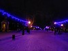 Enigmatic path in #Sumy #Ukraine (gnussmail) Tags: sumy ukraine night newyear enigmatic snow rosy