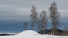Winter Mound (Sigurd R) Tags: akershus asker barrow burialmound church clouds cold gravhaug historical ironage jernalder kirke norge norway snow trees viking winter no
