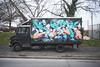 Disek (lanciendugaz) Tags: graffitis graff tag tags spray spraycan chrome block lettrage couleur black banlieue parisienne perso street dalvan vandal vndlsm camion graffiticamion disek roulant piéce camtar