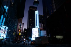 W48th St and 7th Ave at Night (matthewblackwood10) Tags: w48th 7th ave new york city night lights neon light