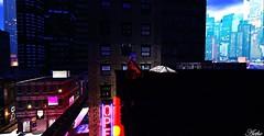 (ifantasy125) Tags: fall city night neon tattoo skyscraper