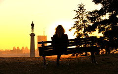 perfect place (poludziber1) Tags: street streetphotography skyline sky sunset serbia city colorful cityscape color colorfull capital clouds people silhouette belgrado beograd belgrade yellow travel tower urban fotocompetition fotocompetitionbronze