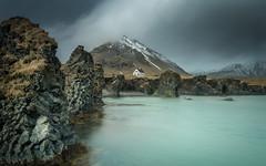 Living in the edge by mika.laitinen - Arnarstapi, Iceland