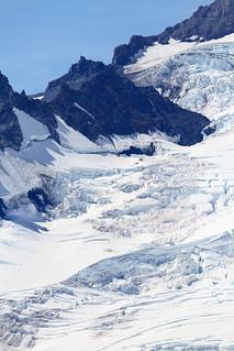 Mt. Rainier, 14,410ft, Emmons Glacier - WA, USA