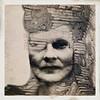Unbalanced (lorenka campos) Tags: expressionism iphoneart mobileartistry artdigital portrait selfportrait modernart art