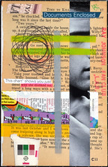 102-CII (fanclub13) Tags: rjfc collage collageart trashart rayjohnsonfanclub bookart streetart destijl recycling trashcollage bookpages