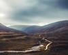 The never ending vastness of Scotland (semgeerts) Tags: schotland scotland eilean donan river teal orange high lands highlands castle mountains hills forest