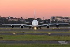 A6-EDN EK A380 34L YSSY-3185 (A u s s i e P o m m) Tags: mascot newsouthwales australia au emirates ek airbus a380 syd yssy sydneyairport sunrise