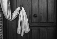 Fatima's Help (31/365) (Walimai.photo) Tags: black white blanco negro byn bw branco preto lumix lx5 panasonic puerta door blanc noir caminodesantiago víadelaplata zamora spain españa rural montamarta