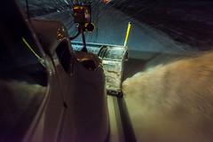 @20180112-D5 PlowingUS33-95 (OhioDOT) Tags: district5 odot plow ridealong route33 salt six snow storm plowing truck