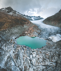 À Reculons (ThibaultPoriel) Tags: glacier rhône snow ice mountain mountains lake colors light suisse swiss switzerland outdoor outdoors fly flying drone dji aerial aerialphotography sky magical nature wild landscape perspective travel roadtrip djiphantom djiphantom4 djiphantom4pro scenic scenery daylight alpes alps