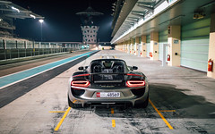 Liquid Metal. (Alex Penfold) Tags: porsche 918 liquid metal silver supercar supercars super car cars autos alex penfold 2018 yas marina abu dhabi uae
