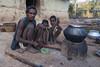 Kawardha - Chhattisgarh - India (wietsej) Tags: kawardha chhattisgarh india sony a100 tamron 1750 family father children morning fire wietse jongsma bhoramdeo