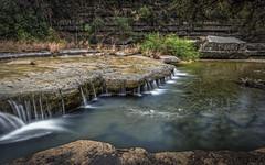 Runoff (keith_shuley) Tags: falls runoff stream creek bullcreek limestone austin texas texashillcountry