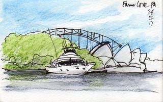 Sydney Harbour Farm Cove 261217