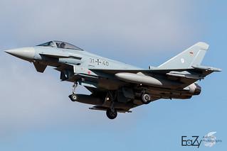 31+40 German Air Force (Luftwaffe) Eurofighter Typhoon