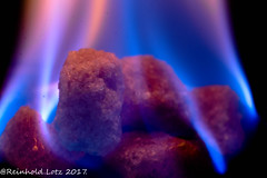 Hot Sugar .....  HMM (Reinhold.Lotz [slowly recovering ]) Tags: installation flame macromondays