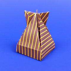 Origami Dropbox designed by José Meeusen (origami.plus) Tags: origami origamibox box