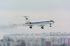 Ту-134А-3 (RA-65995) (dd666_wg) Tags: moscow russia plane tupolev tu134 t134 air force airlines vko spotting jet aircraft airport avia avgeek av avporn megaplane winter sun aov airplane sky snow