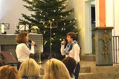 Elena und Inga als Gesangsduo