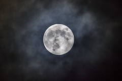 Super Blue Moon  2018 from Ayrshire... (Catherine Cochrane) Tags: lunar supermoon space sky stars clouds night outdoors bluemoon fullmoon scotland dark astronomy