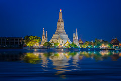 Wat Arun temple (anekphoto) Tags: thailand bangkok wat arun temple night twilight background beautiful sunset water holiday travel architecture traditional city tourism culture ancient asia religion landmark tower river famous cityscape skyline vacations buddhism thai southeast phraya buddhist religious light 3d landmarks place boat stupa prang long sky district best among icon blue space reflection wave
