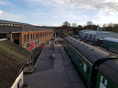 2018 0212 503 (SGS8+) Bluebell Railway; Sheffield Park (Lucy Melford) Tags: samsunggalaxys8 bluebell railway steam train departing southern sheffield park