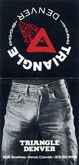 Triangle Denver (jericl cat) Tags: triangle denver 2036 broadway colorado gay zipper jeans crotch bulge dick cock bar