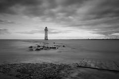 New Brighton Lighthouse (Rachael Webster UK) Tags: newbrighton lighthouse blackandwhite bw wirral longexposure longexposurephotography merseyside mersey rivermersey