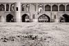 Passage (Tom Levold (www.levold.de/photosphere)) Tags: fuji fujixpro2 isfahan iran xf18135mm esfahan sw bw architektur architecture building brücke bridge siosepol flussbett riverbed driedout