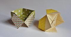 Présentoir blintz duo / Display stand blintz duo de Viviane Berty 2018 (Viviane des Papiers) Tags: vivianeberty origami box origamibox