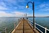 Il lungolago di Passignano sul Trasimeno (diegozizzari) Tags: lago lagotrasimeno trasimeno passignano lungolago cielo nuvole umbria pontile