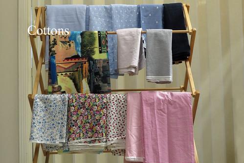 Cotton high end fabrics