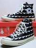 '70 LES Archive - Black & White Hi 149439C (hadley78) Tags: cons chucks converse collection ct chucktaylors chuck taylor taylors tops top thatconverseguy guinness worldrecord world record ripleys joshuamueller archive 70