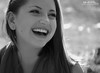 Laney Outtake (Hi-Fi Fotos) Tags: laney senior portrait outtake girl teen smile school session fun laugh natural moment bw mono blackandwhite sigma 18250 nikon d5000 hififotos hallewell bokeh