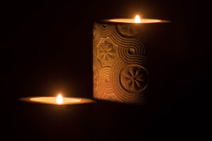 Peace of Mind (Wilkowski Fotografia) Tags: candle kerze peace ambience ambient pokój dark flame warm beauty beautiful tair nikon d5500 night darkness light candlelight macro closeup close home harmony