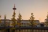 京都タワー1・Kyoto Tower (anglo10) Tags: 京都市 京都府 japan kyoto sunset 東本願寺 寺院 temple 夕景 イチョウ 紅葉 autumnleaves 京都タワー 建築物 architecture