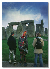 This is England - by John Runions (jrunions1) Tags: stonehenge punk england englishheritage funny